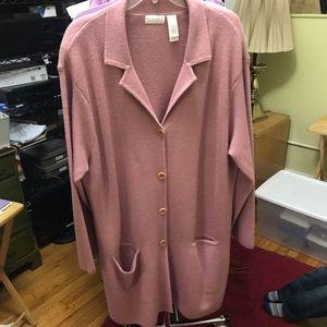 Full Length  Pinkish/Rose Sweater